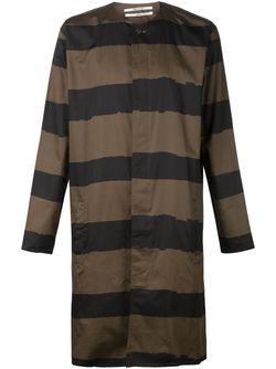 Пальто В Полоску ROBERT GELLER                                                                                                              серый цвет