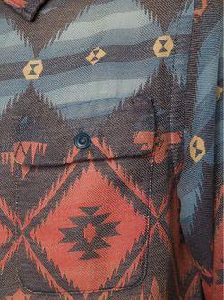 Жаккардовая Рубашка RRL                                                                                                              красный цвет