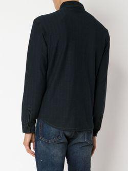 Рубашка В Елочку RRL                                                                                                              синий цвет