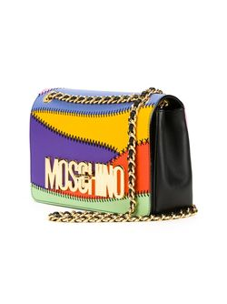 Сумка На Плечо С Логотипом Moschino                                                                                                              многоцветный цвет