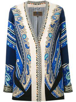 Floral Paisley Print Jacket Etro                                                                                                              многоцветный цвет