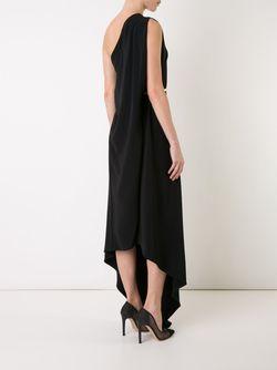 Платье На Одно Плечо Stella Mccartney                                                                                                              чёрный цвет