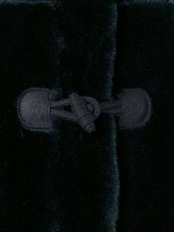 Меховой Дафлкот MSGM                                                                                                              синий цвет