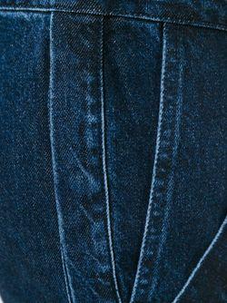 Лоскутные Джинсы Marques Almeida                                                                                                              синий цвет