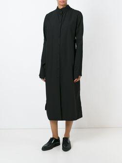 Платье-Рубашка С Воротником-Стойкой Rundholz                                                                                                              черный цвет