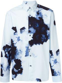 Рубашка С Принтом Paul Smith                                                                                                              синий цвет