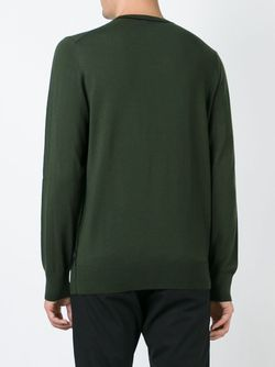Свитер С Круглым Вырезом Paul Smith                                                                                                              зелёный цвет