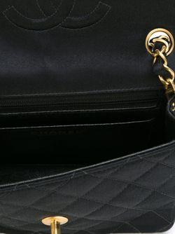 Сумка Через Плечо С Стеганым Эффектом Chanel Vintage                                                                                                              чёрный цвет