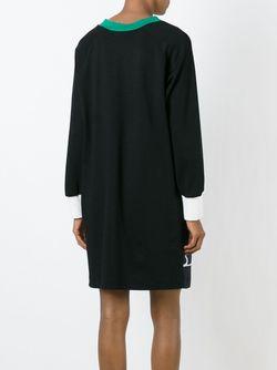 Платье-Шифт С Цветочным Принтом Tsumori Chisato                                                                                                              черный цвет