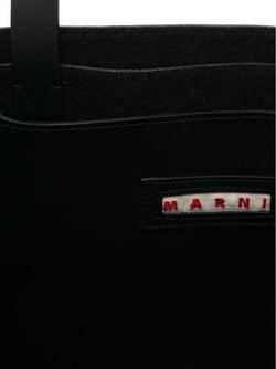 Сумка-Тоут Колор-Блок Marni                                                                                                              черный цвет