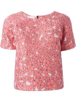 Жаккардовый Топ GIAMBA                                                                                                              розовый цвет
