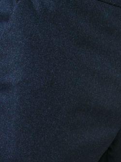 Костюмные Брюки Прямого Кроя Incotex                                                                                                              синий цвет