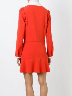 Платье-Рубашка С Расклешенным Подолом See By Chloe                                                                                                              красный цвет