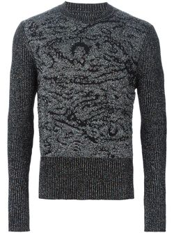 Glitter Embellished Sweater Maison Margiela                                                                                                              чёрный цвет