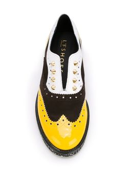 Panelled Laceless Brogues L'F SHOES                                                                                                              многоцветный цвет