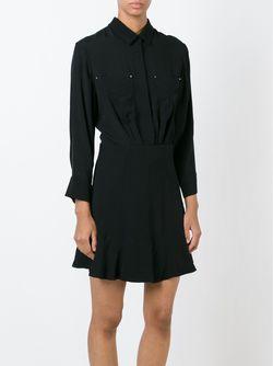 Платье-Рубашка Althia Iro                                                                                                              черный цвет
