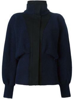 Куртка С Высоким Воротником Sacai                                                                                                              синий цвет
