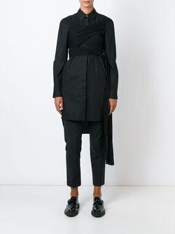 Платье-Рубашка MM6 by Maison Margiela                                                                                                              чёрный цвет