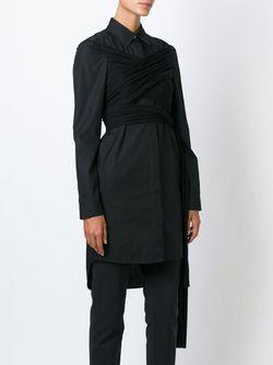Платье-Рубашка MM6 by Maison Margiela                                                                                                              черный цвет