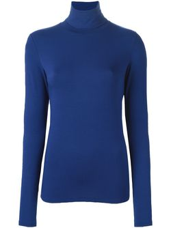 Свитер С Высоким Горлом MAJESTIC FILATURES                                                                                                              синий цвет