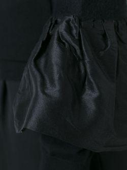 Свитер С Гофрированными Манжетами ERIKA CAVALLINI SEMICOUTURE                                                                                                              чёрный цвет