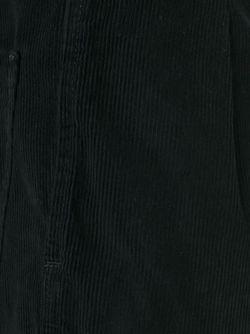 Бархатные Укороченные Брюки SOCIETE ANONYME                                                                                                              чёрный цвет