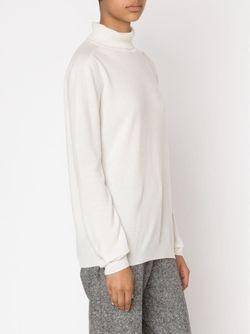 Свитер С Высоким Горлом Jil Sander                                                                                                              белый цвет