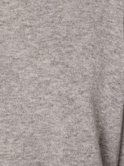 Трикотажный Топ Свободного Кроя The Row                                                                                                              серый цвет