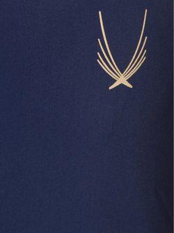 Майка На Тонких Лямках-Спагетти Lucas Hugh                                                                                                              синий цвет