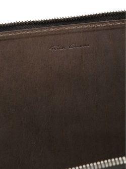 Кошелек С Ремешком На Руку Rick Owens                                                                                                              серый цвет