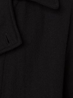 Двубортное Пальто GREG LAUREN                                                                                                              чёрный цвет