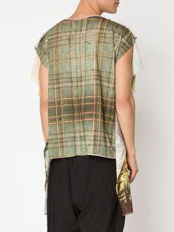 Длинная Футболка Green Vivienne Westwood                                                                                                              коричневый цвет