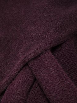 Трикотажный Шарф Snow Massimo Alba                                                                                                              розовый цвет