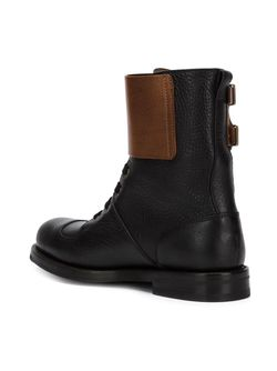 Double Buckle Boots Vivienne Westwood                                                                                                              черный цвет