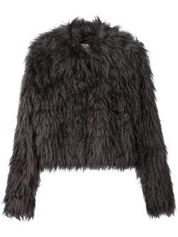 Пушистая Куртка Dorothee Schumacher                                                                                                              серый цвет