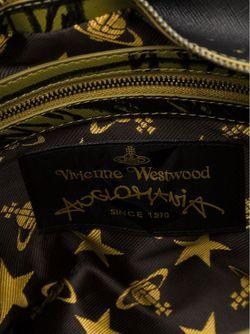 Сумка-Тоут В Шотландскую Клетку Vivienne Westwood Anglomania                                                                                                              зелёный цвет