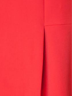 Асимметричная Юбка С Разрезом Спереди Dorothee Schumacher                                                                                                              красный цвет