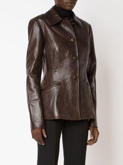 Приталенная Куртка Martin Grant                                                                                                              коричневый цвет