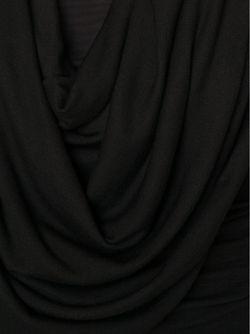Топ С Драпированным Воротником NORISOL FERRARI                                                                                                              чёрный цвет