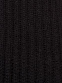 Шарф Ребристой Вязки CHRISTIAN DADA                                                                                                              черный цвет