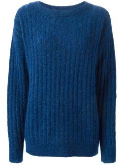 Свитер С Круглым Вырезом Michael Michael Kors                                                                                                              синий цвет