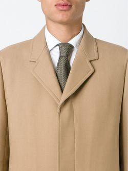 Chain Motif Tie Hermès Vintage                                                                                                              зелёный цвет
