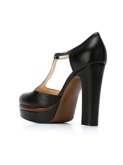 Туфли С Т-Образным Ремешком L' Autre Chose                                                                                                              чёрный цвет