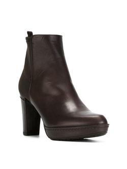Ботинки С Панельным Дизайном Stuart Weitzman                                                                                                              коричневый цвет