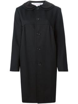 Пальто С Воротником Питер-Пэн Comme Des Garcons                                                                                                              черный цвет