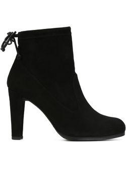 Ботинки По Щиколотку Stuart Weitzman                                                                                                              чёрный цвет