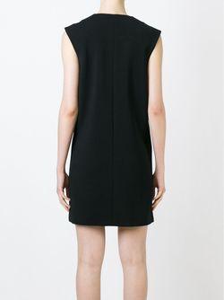 Платье-Шифт На Молнии Sonia Rykiel                                                                                                              черный цвет