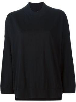Вязаный Свободный Свитер Boboutic                                                                                                              черный цвет