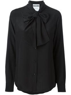 Pussybow Blouse Moschino                                                                                                              чёрный цвет