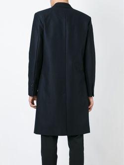 Double Breasted Coat Ami Alexandre Mattiussi                                                                                                              синий цвет